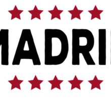 Madrid capital city  Sticker