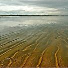 Shallow Seawater over Sand by Mike  Waldron