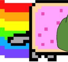 Nyan Pepe Sticker