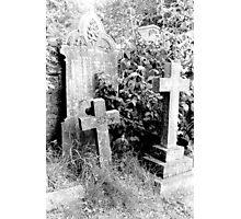 1982 - hindon cemetery Photographic Print
