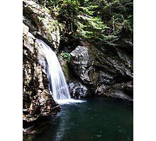 Bingham Falls Stowe, VT Photographic Print