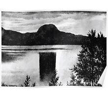 Theodor Kittelsen Andersnatten Andersnatten mountain in the valley Eggedal Poster