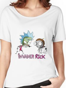 Invader Rick Women's Relaxed Fit T-Shirt