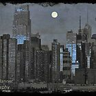 new york at night by Noel Moore Up The Banner Photography