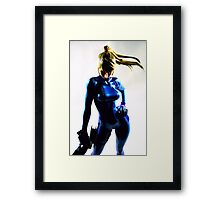 Metroid Framed Print