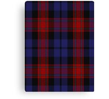 00518 Black & Red Tartan  Canvas Print