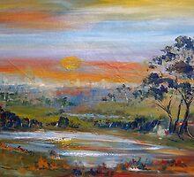 Sunset Pemberton WA Australia by Margaret Morgan (Watkins)