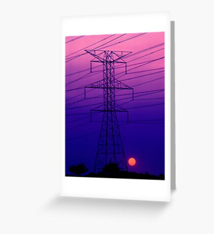 An Electric Dynamo Greeting Card