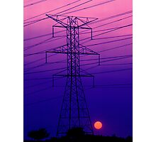 An Electric Dynamo Photographic Print