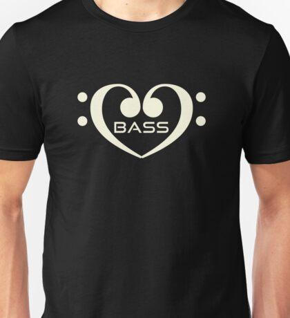 White Bass In Heart Unisex T-Shirt