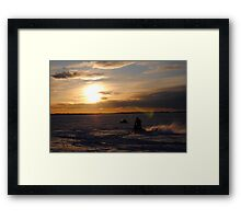 Winter Sport Framed Print