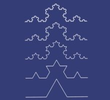 The Koch Curve T-Shirt