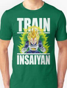 TRAIN INSAIYAN - Super Saiyan Vegeta T-Shirt