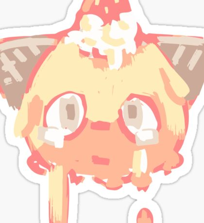 melty dreams Sticker