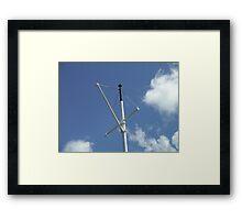 Steamship Mast, TSS Earnslaw, Queenstown New Zealand Framed Print