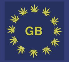 Great Britain Marijuana flag by SimonKlak