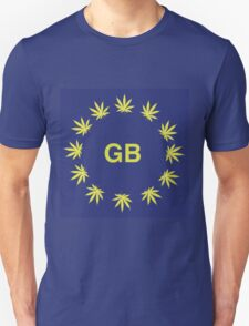 Great Britain Marijuana flag T-Shirt