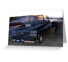 Raw Horsepower Greeting Card