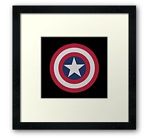 Captain Shield Framed Print