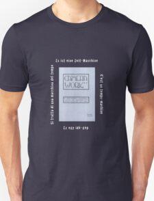 Camera Work: It's A Time Machine Unisex T-Shirt
