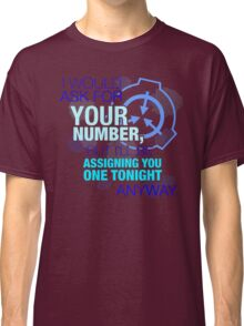 What's your (item) number Classic T-Shirt