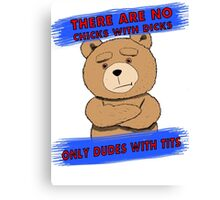 Ted 2 Canvas Print