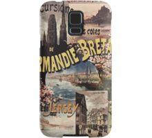 Gustave Fraipont Affiche Ouest Normandie Bretagne Jersey Samsung Galaxy Case/Skin