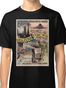 Gustave Fraipont Affiche Ouest Normandie Bretagne Jersey Classic T-Shirt