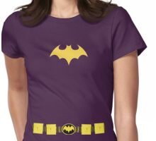 Batgirl w/ Utility Belt Womens Fitted T-Shirt