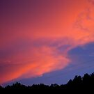 Red Sky At Night by Hank Eder
