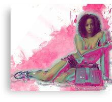 Da Boom Canvas Print