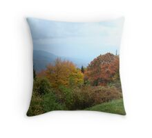 Fall on the Blue Ridge Parkway II Throw Pillow