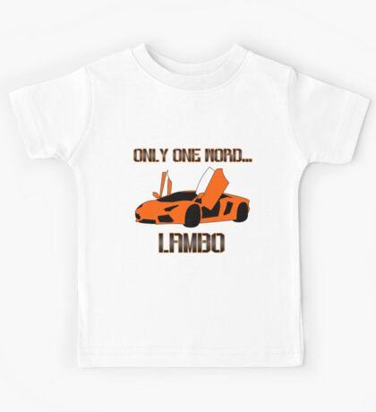 Lamborghini! Kids Tee