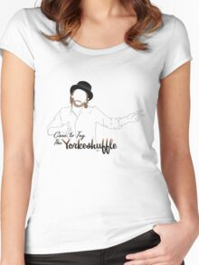 The Yorkeshuffle Women's Fitted Scoop T-Shirt