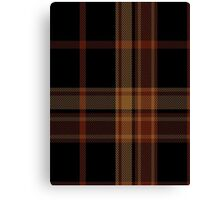 00522 Black Forest Tartan  Canvas Print