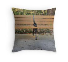 Waiting on Someone Special Throw Pillow