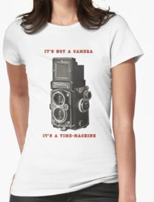 Rolleiflex Time-Machine Womens Fitted T-Shirt