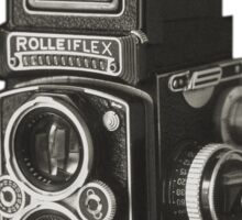 Rolleiflex Time-Machine Sticker
