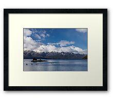 Lake Nahuel Huapi, Patagonia, Argentina Framed Print