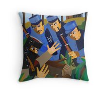 NED TAKEN BY THE TRAPS 1880 Throw Pillow