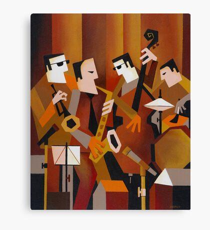 BERNIE McGANN QUARTET Canvas Print