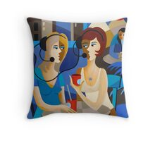 CALL CENTER BREAK Throw Pillow
