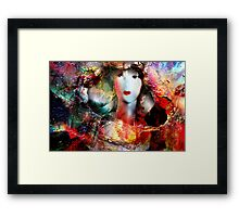 Ghosts in the Glass Framed Print