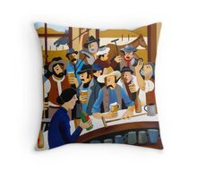 THE GEEBUNG POLO CLUB Throw Pillow