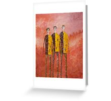 THE CONVICTS Greeting Card