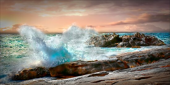 Sunset Splash by Shannon Rogers