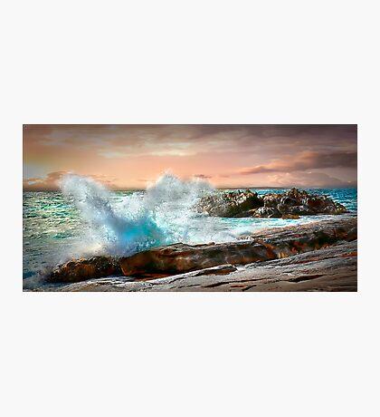Sunset Splash Photographic Print