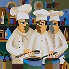 THE APPRENTICE CHEFS by Thomas Andersen
