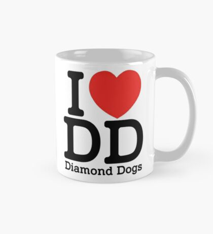 I Heart DD (Diamond Dogs) Mug