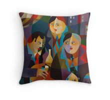 THE POLITICIANS Throw Pillow